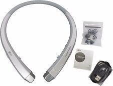 LG HBS-910 Tone Infinim OEM Bluetooth Stereo Headset Harman Kardon Sound Silver