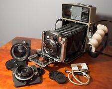 Linhof Technika 70 6x9 ( 6x7 ) 2x3 - cammed 3 lens Kit: 65mm 100mm 210mm +