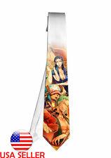 One Piece Zoro Robin Necktie Neck Tie Anime Manga Halloween Men Boy Cosplay