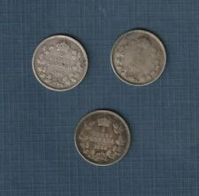 1912, 1913, 1914 Silver 5 Cents.  Great Collection Additions!!!!