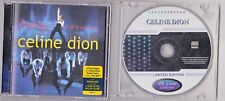 "CELINE DION ""RARE"" A NEW DAY LIVE IN LAS VEGAS CD/DVD + LIMITED EDITION CD"
