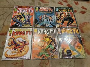 Marvel DEADLY HANDS OF KUNG FU Bruce Lee 15 16 17 18 19 20 White Tiger Curtis