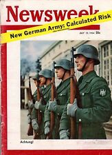 1954 Newsweek July 12-German rearmament; Indo-China;Billy Graham in Berlin;India