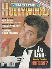 JUNE 1992 INSIDE HOLLYWOOD movie magazine JAY LENO