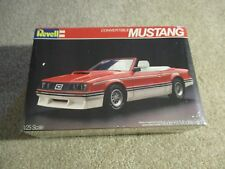 Revell Convertible Mustang 1/25 Scale Model Kit MISB Sealed 1982 See My Store