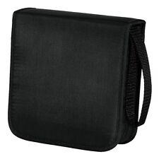 Hama 40 CD / DVD Wallet Storage Carry Case Nylon Black BRAND NEW 033831