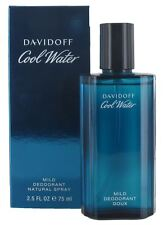 Davidoff Cool Water Homme 75ml Deodorant Spray for Men - New