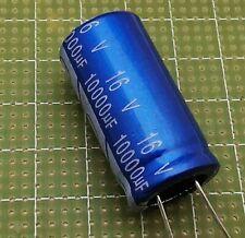 10,000uF 16 V Axial Condensateur électrolytique-Lot de 3 10000A16