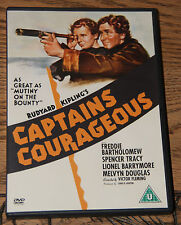 CAPTAINS COURAGEOUS 1937 SPENCER TRACY RARE OOP PRESSED DISC R2 DVD