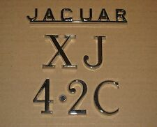 Jaguar XJ6 Series 2 Coupe/Saloon NOS Boot/Trunk Lid Badges/Emblems