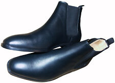 PAUL SMITH BLACK LEATHER SHOES / BOOTS BRAND NEW BOXED RARE SZ:UK9 / EU43 /US10