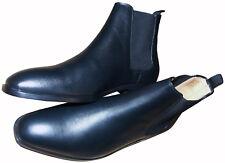 Zapatos de Cuero Negro PAUL SMITH/Botas a estrenar en caja Raro SZ:UK9/EU43/US10
