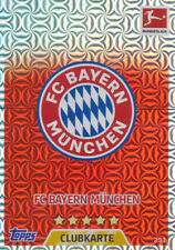 Topps Match Attax 17/18 -  253 - Club-Karte FC Bayern München