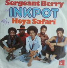 "7"" 1973 KULT ! INKPOT Sergeant Berry + Heya Safari VG+?"