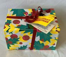 NEW Lush Jolly Holly Christmas Gift Set Bath Bombs - Yog Nog & Golden Wonder