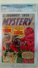 JOURNEY INTO MYSTERY THOR # 90 CGC 7.0 FN/VF 1ST APP XARTANS  CENTS 1963