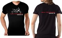 T-shirt maglia per moto Ducati Multistrada 1200S tshirt 1200 S maglietta