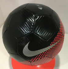 Nike Cr7 Prestige Soccer Ball Size- 5 Black/Crimson / Sc3370 010