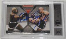 Bas Rutten Kevin Randleman Signed Topps UFC 20 Moment of Truth Card Beckett COA
