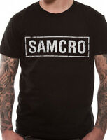 Official Sons Of Anarchy SAMCRO  T Shirt Black SOA S M L XL XXL