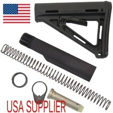 CTR Style Buttstock And Mil - Spec extension Tube Kit BLACK