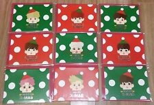 EXO SMTOWN COEX Artium OFFICIAL GOODS ALL MEMBER PAPER TOY 9 CARD SET NEW