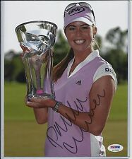 PAULA CREAMER AUTO AUTOGRAPH SIGNED 8X10 PHOTO PSA PSA/DNA