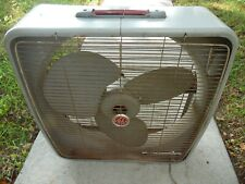 GE Automatic Reversible VTG 3 Speed 3 Blade Electric Industrial Shop Fan USA