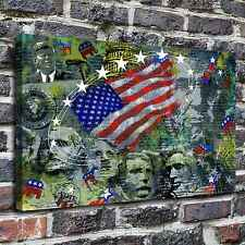 The American flag Painting HD Print on Canvas Home Decor Wall Art Pictures