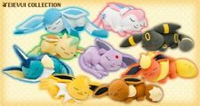 Pokemon Center Singapore Original Sleeping Suyasuya Eevee Evolution Plush Toy