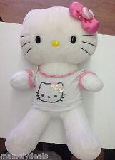 "Rare Retired Hello Kitty 20"" Build A Bear W/ Shirt! See Pics!"