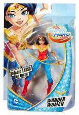 "DC Super Hero Girls Wonder Woman 6"" Action Figure w/ Lasso Mattel"