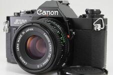 """""""EXC++++"""" Canon AV-1 35mm SLR Film Camera w/ FD 50mm f/2 Lens From japan #0460"""