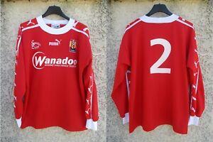 Maillot LE MANS MUC 72 porté n°2 PUMA vintage manches longues trikot shirt M