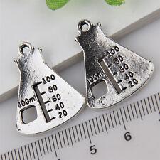 10Pcs Zinc Alloy Measuring cup Charms Pendants 26x21mm 1A1918