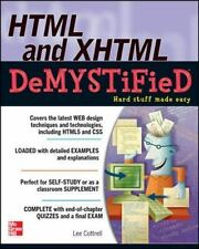 HTML & XHTML Demystified (Paperback or Softback)