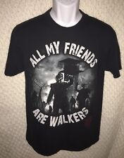 The Walking Dead All My Friends Are Walkers T-Shirt Size Adult Medium