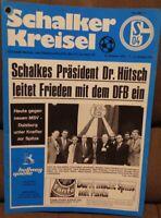 FC Schalke 04 + Schalker Kreisel 20.11.1976 + Bundesliga gegen MSV Duisburg /255