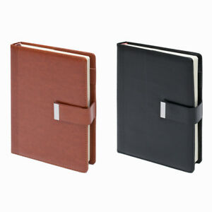 Business PU Leather Notebook A5 Journal Diary Book Writing Daily Notepad