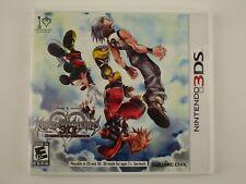 Kingdom Hearts 3D: Dream Drop Distance (Nintendo 3DS, 2012) CIB