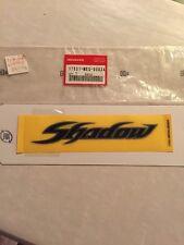 GENUINE Honda NOS 17531-MEG-000ZA Decal Honda Shadow