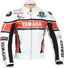 Blousons toutes saisons blancs longueur taille pour motocyclette