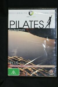 Pilates For Beginners Health Wellbeing Plus Stretch & Flex R4 New Sealed (D612)