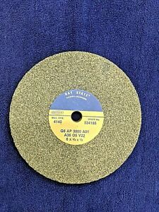 """Grinding Wheel - Bay State A36 O5 V22 4140 RPM 6""""x3/4""""x.5"""" (spindle)"""