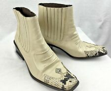 WOMENS HARLEY DAVIDSON TWILIGHT BOOT 8.5 BONE IVORY COLOR