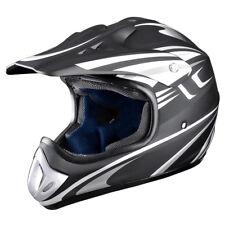 Adult Full Face MX Helmets Motocross Dirt Bike Offroad ATV Size M DOT Approve
