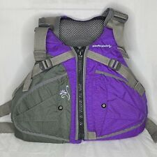 Stohlquist Women's Flo Life Jacket PFD Purple Gray Adult X Small / Small Zip Sea