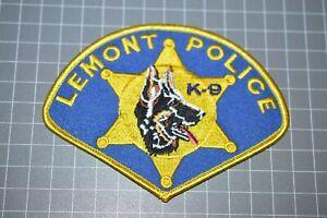 Lemont Illinois Police K-9 Patch (B17-A21)