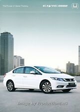 2014 Honda Civic Sedan 32-page Australia Car Sales Brochure Catalog
