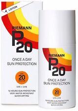 Riemann P20 una vez al día loción protector solar de protección de 10 horas SPF20 200ml